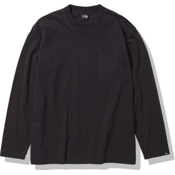 ザ・ノース・フェイス [THE NORTH FACE] ロングスリーブヘビーコットンティー(メンズ) [L/S Heavy Cotton Tee] (K)ブラック NT32007-K